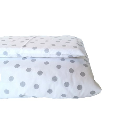 Grey Polka Dot Design