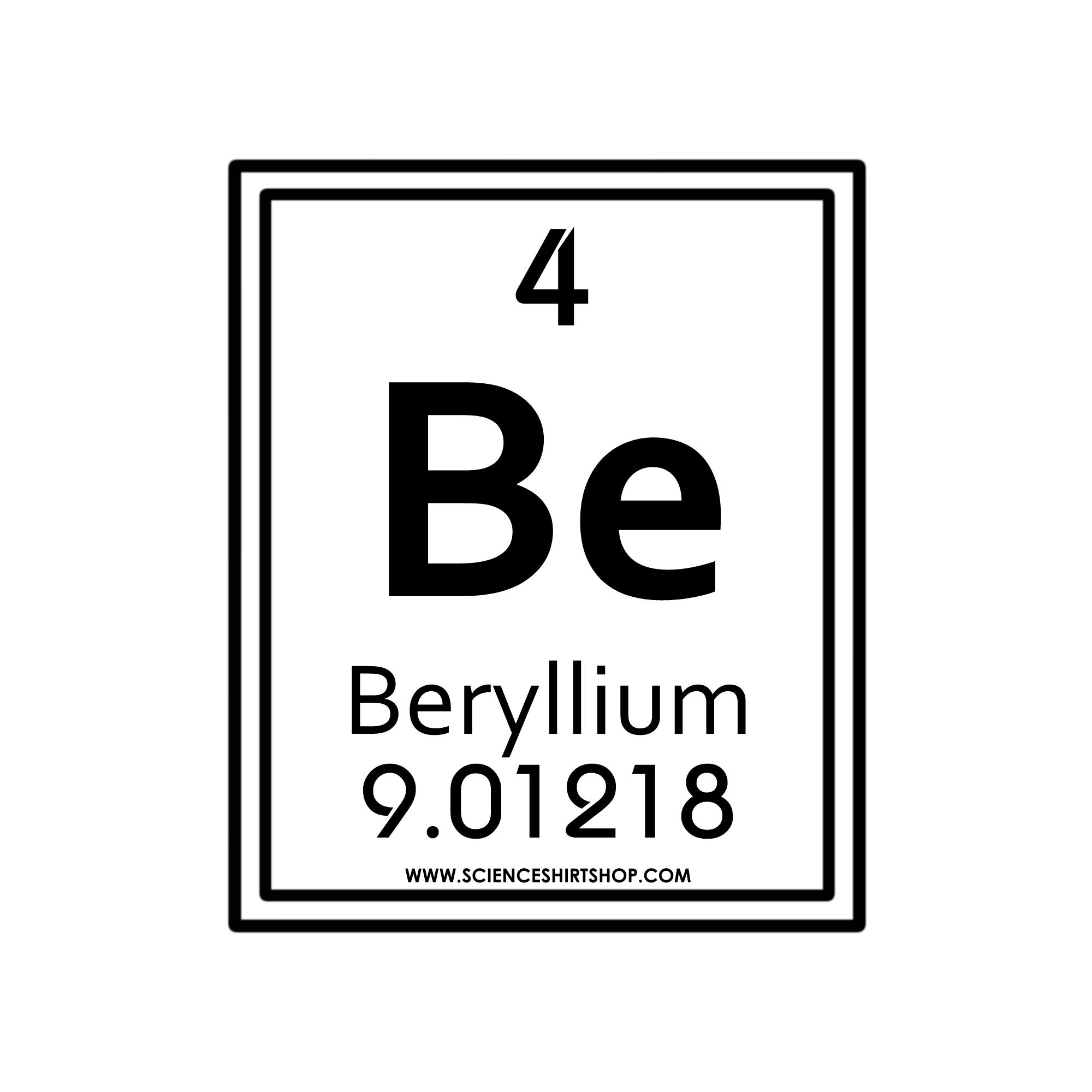 04 Beryllium