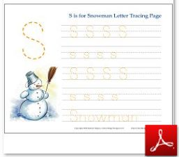 Winter Themed Educational Activities For Kids Free