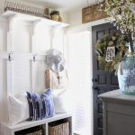 Farmhouse Style Mud Room And Hall Tree Inspiration Cotton Stem