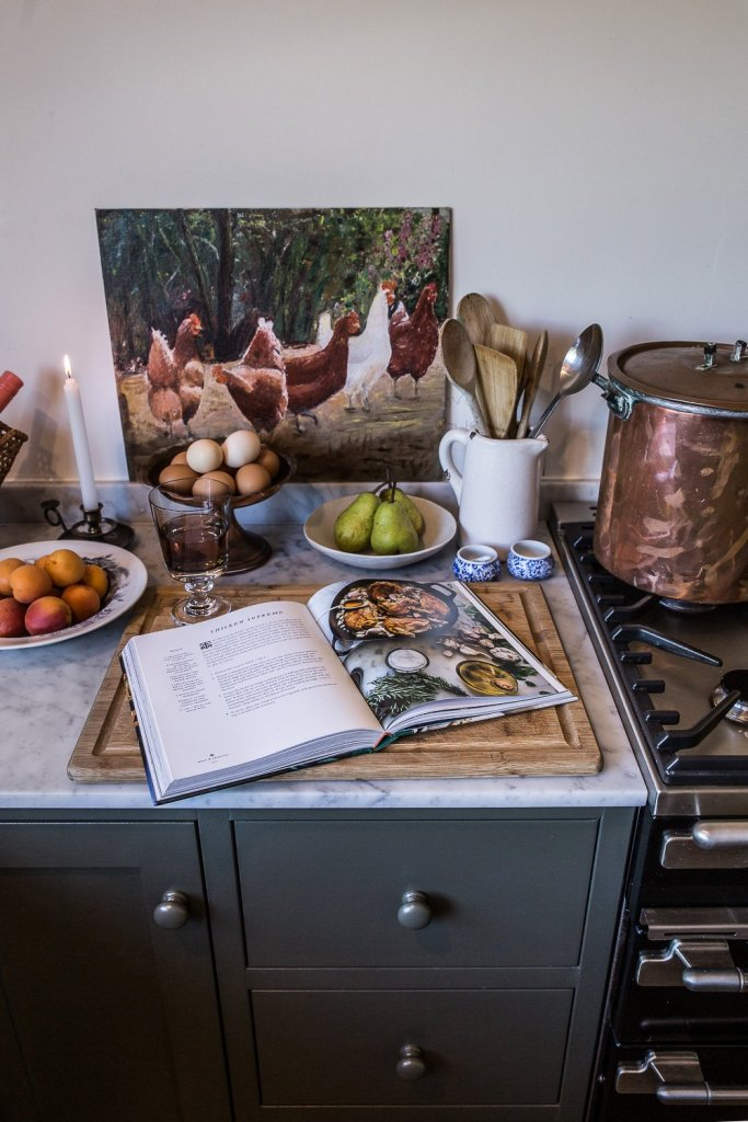 Cooking in my cottage kitchen - Cottonwood & Co