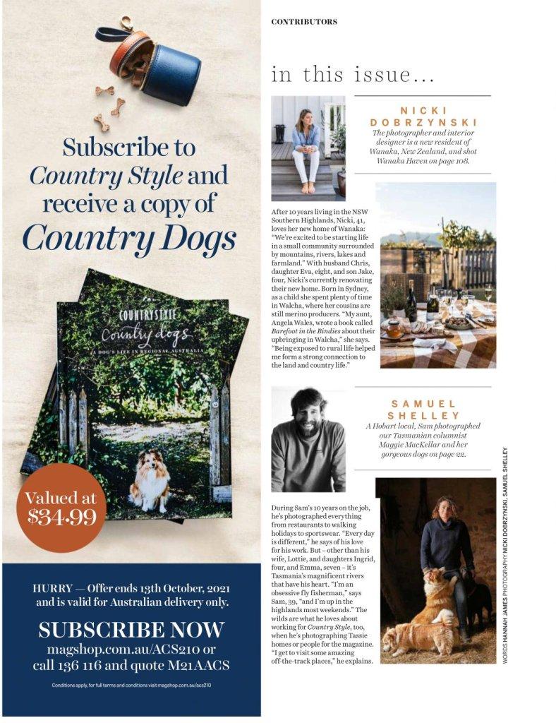 Country Style magazine - Nicki Dobrzynski