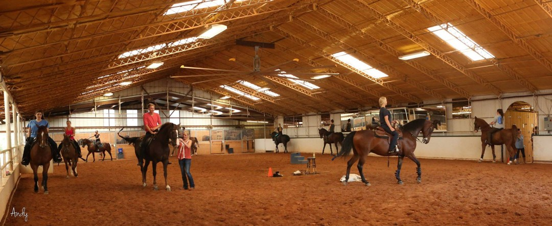 Group riding lesson