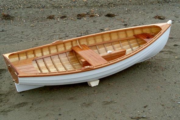 Fiddlehead Tender on the beach