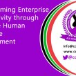 Transforming Enterprise Productivity through Effective Human Resource Management Presentation by BRO GEORGE OWIDHI Economist –Central Organization of Trade Unions COTU (K)
