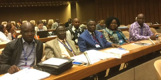 COTU Kenya attending proceedings at the ILO ILC Committee Meeting.