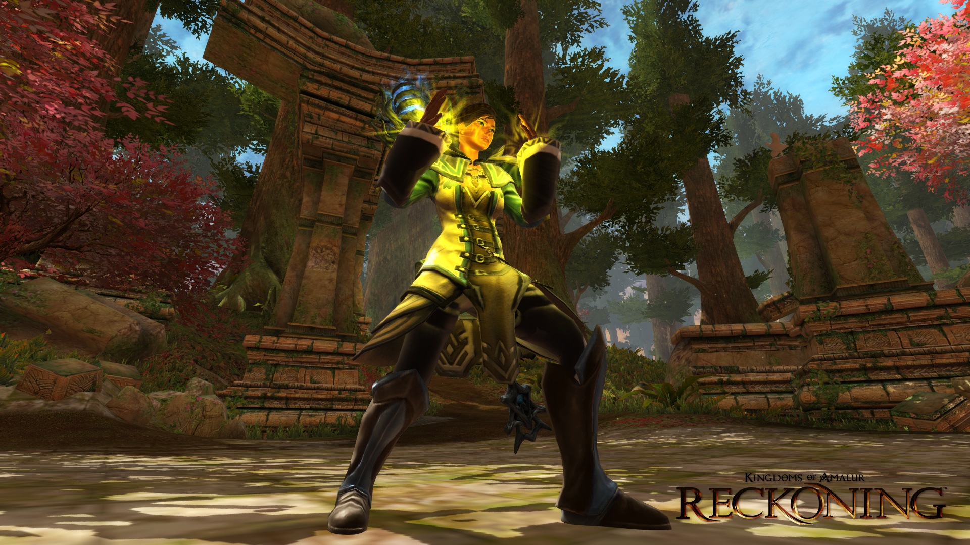 Review Kingdoms Of Amalur Reckoning Couch Co Op