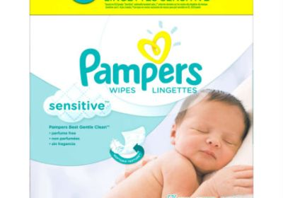 lingettes pampers sensitive