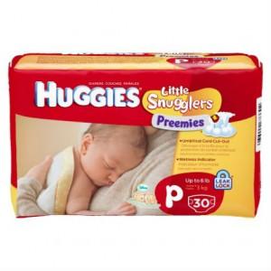 Couches Huggies Preemies pour les bébés prématurés