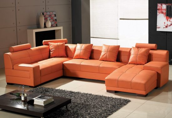 Recliner Small Sofa Sectional