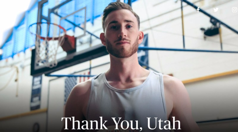 , Gordon Hayward's Player's Tribune Piece Will Give You Chills
