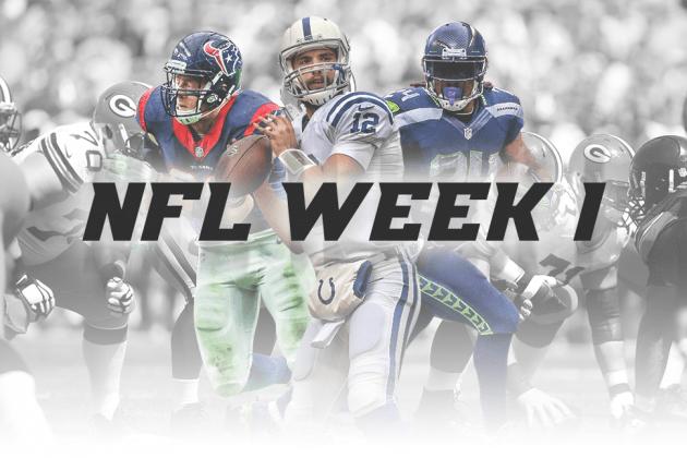 , Biggest Games in the NFL Week 1