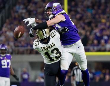 NFL: New Orleans Saints at Minnesota Vikings