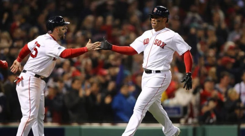 Red Sox, Red Sox Split First Two Games of ALCS with Astros