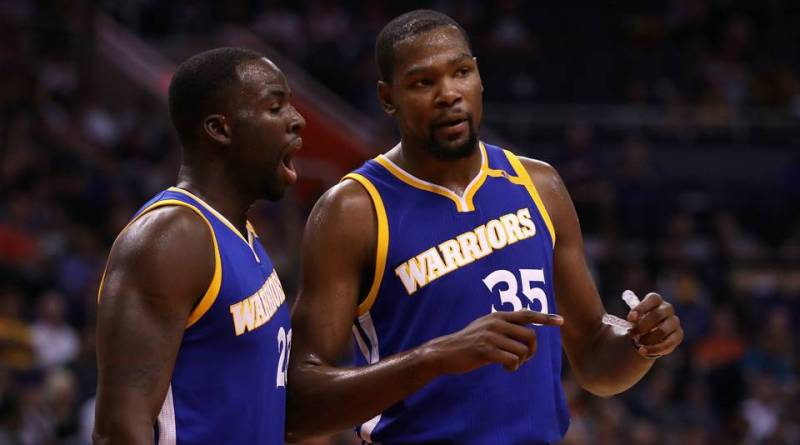 Kevin Durant, Drama in the Bay Area: Kevin Durant and Draymond Green Are Beefing