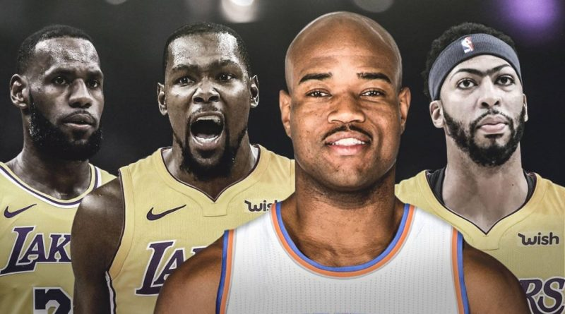 Kevin Durant and Anthony Davis to the Lakers, Jarrett Jack Says Kevin Durant and Anthony Davis Are Going to the Lakers