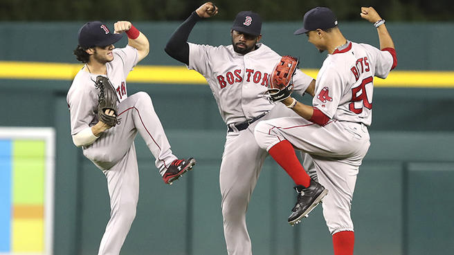 Red Sox Outfield, Red Sox Outfield Observations