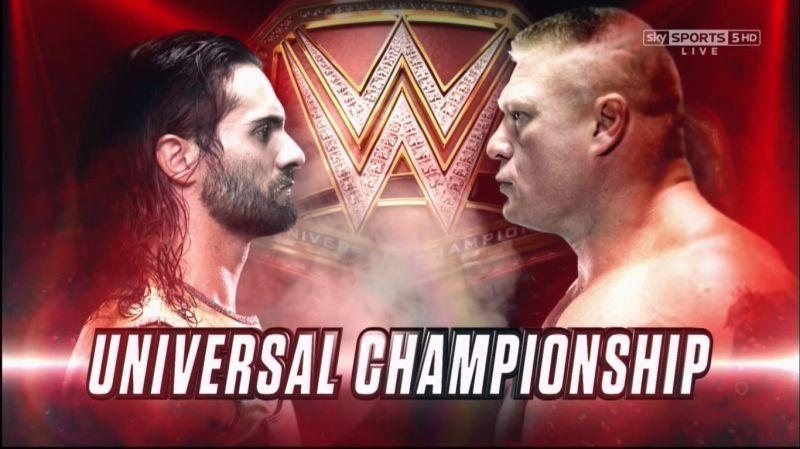 Universal Championship Match