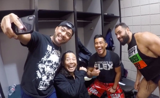 , Watch This Video of Hideo Itami's final moments in WWE
