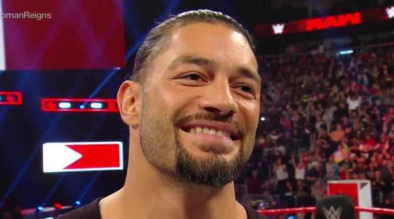 Roman Reigns, Roman Reigns Returned to RAW And Dropped A Little Update For the Fans