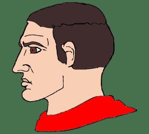 Average Chad Red Shirt