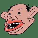 Biracial Face