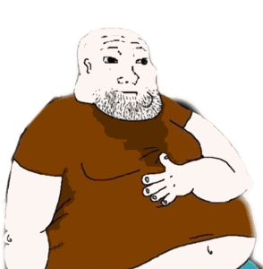 Fat Man SIde Character