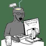 Soyjak on Computer