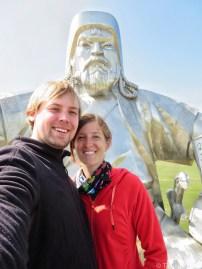 Chinggis Khan Statue Terelj National Park Mongolia
