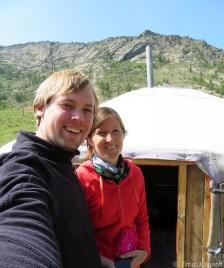 Ger in Terelj National Park Mongolia