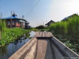 Boat Maing Thauk Village Myanmar