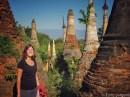Inthein Pagodas Inle Lake Myanmar