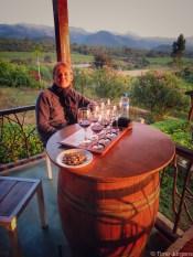 Wine tasting at Red Mountain Estate Inle Lake Myanmar