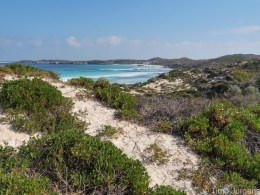 Rottnest Island - View over the dunes