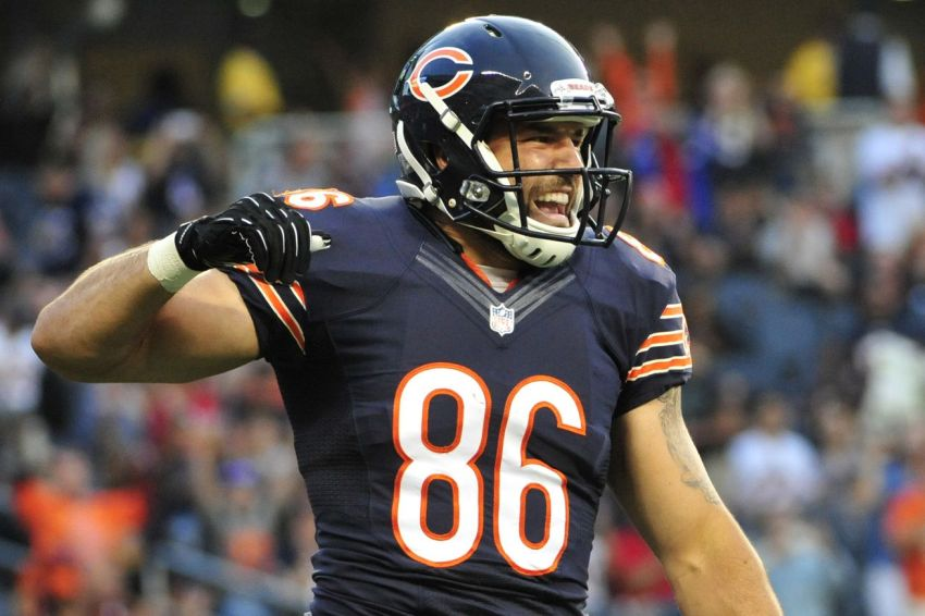 Zach Miller - Photo by David Banks/USA TODAY Sports