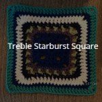 Treble Starburst Square Pattern