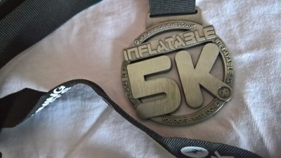 Inflatable 5k Medal
