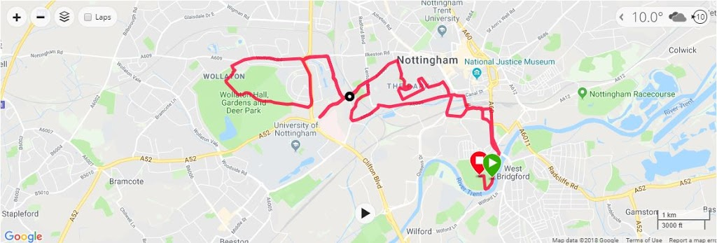 Robin Hood Half Map 2018