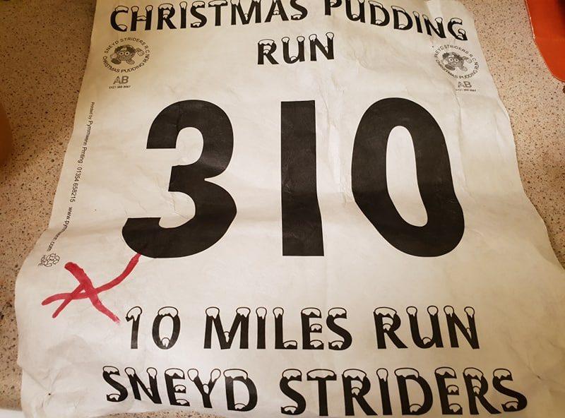 Sneyd 10 Mile Christmas Pudding Run