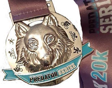 Wolf Pack 20k Medal