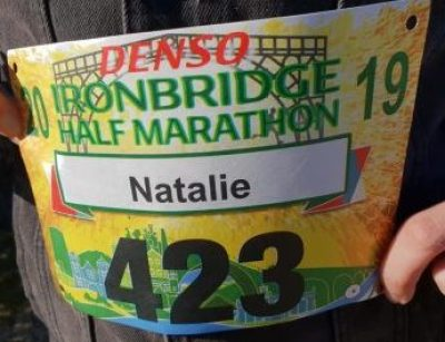 Ironbridge Half Marathon Race Number