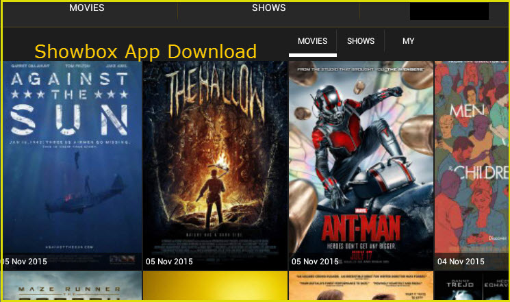 Showbox App Download on Android & Watch Movies