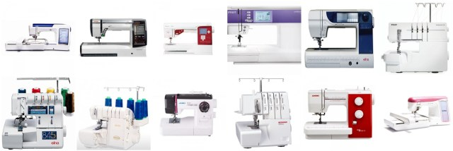 Promotion sur les machine à coudre, les machines à broder et les surjeteuses de CoudreetBroder.com