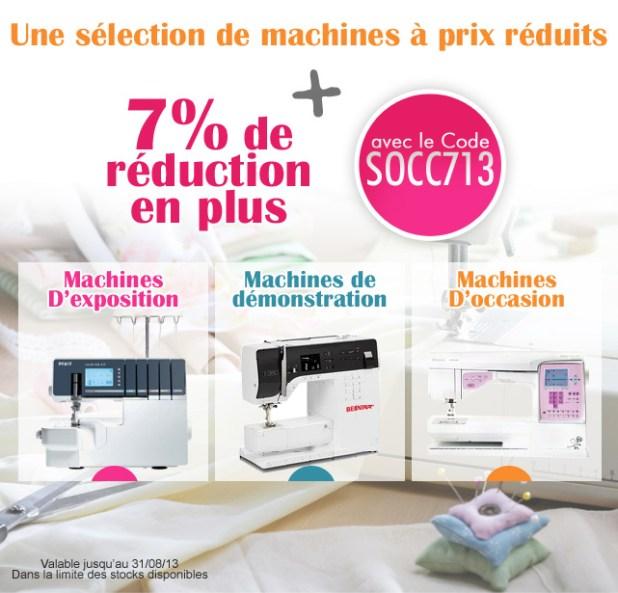 Destockage de machines à coudre et à broder d'occasion chez www;coudreetbroder.com