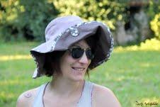 Chapeau de Caro's Bidouille pour www.coudreetbroder.com