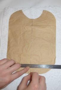 épingler le patron sur le tissu