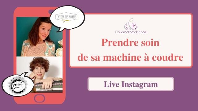 Live Coudreetbroder.com entretenir sa machines à coudre