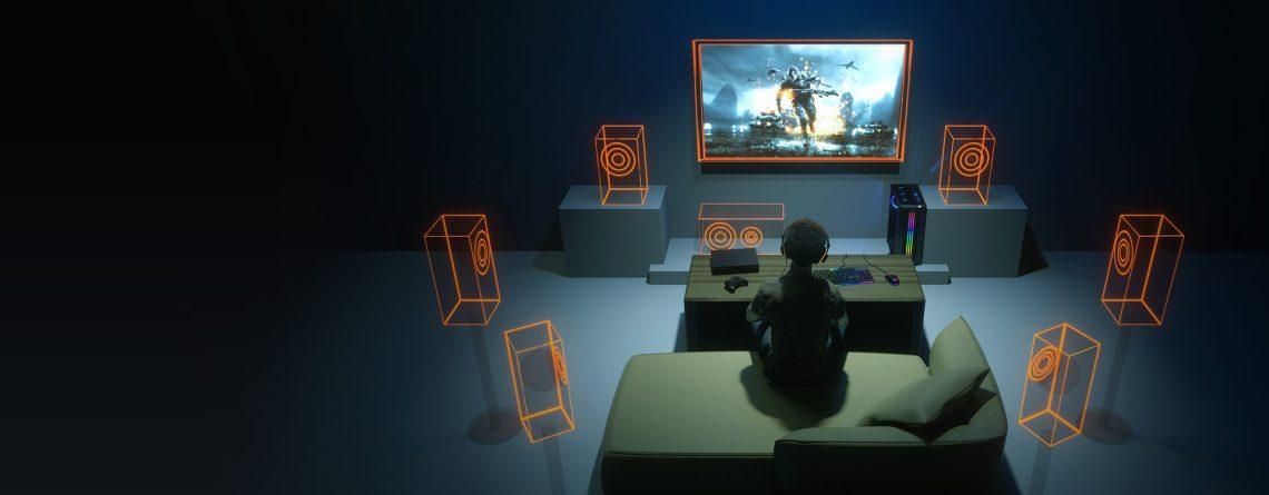 7.1 Virtual Surround: audio immersif à 360 °