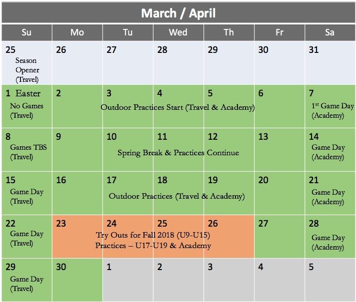 Apr 2018 Calendar v1