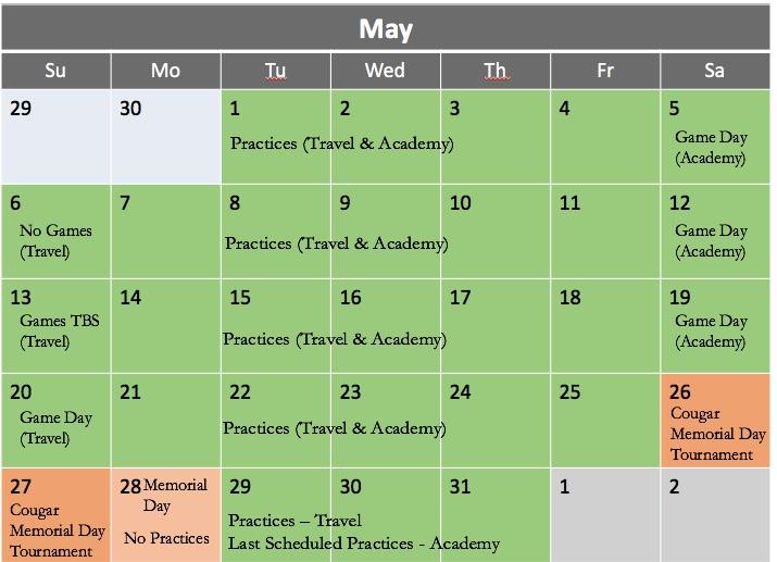 May 2018 Calendar v1